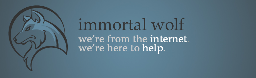 Immortal Wolf - internet components